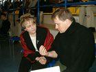 Dyskutują D. Głowacka-Mazur i D. Szymikowski